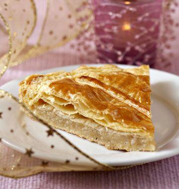 Galette des rois aux pommes, amandes et cannelle - Recettes de cuisine Ôdélices