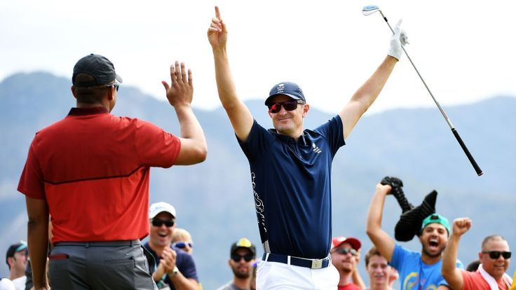 Justin Rose made the first Olympic hole-in-one in more than a century as the…