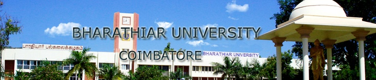 Bharathiar University | Results | CPOP | Exam Timetable | Syllabus | School of Distance Education | Address | SDE | SET Exam | PhD | Question Papers | Exam Results and other information related to Bharathiar University.