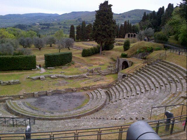 Teatro Romano Fiesole nel Firenze, Toscana