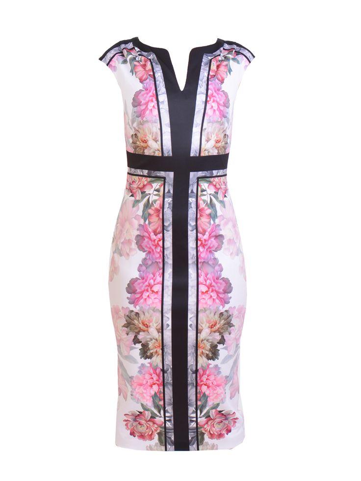 Ted Baker - Shawnie Painted Posie Midi Dress