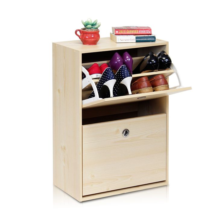 Furrino Rubik 2 Door Shoe Storage Cabinet in