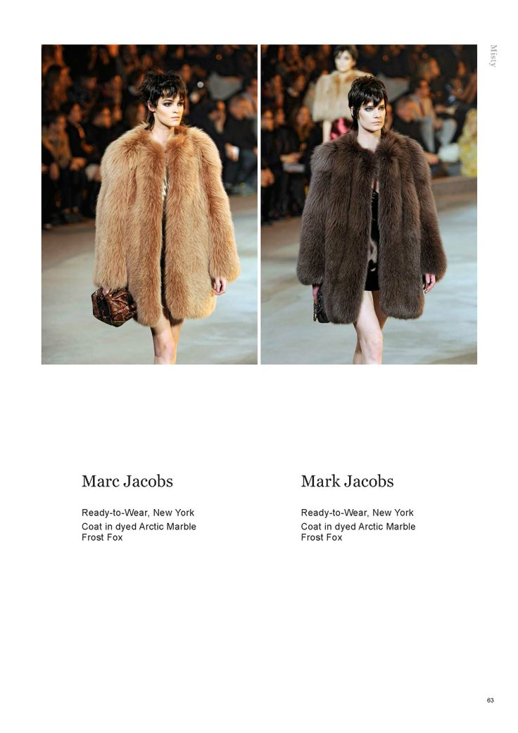 Saga Furs Misty lookbook A/W 2013-14