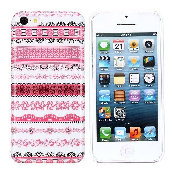 Elegant roze aztec hardcase hoesje iPhone 5C