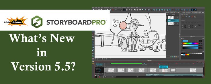 The Latest Version of Storyboard Pro is Here