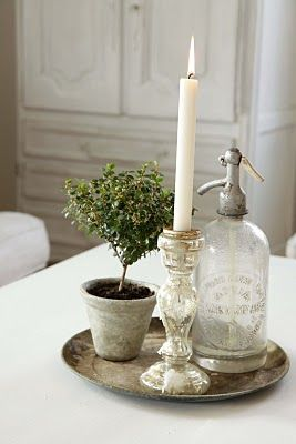 charming centerpiece: A lovely home is all about details