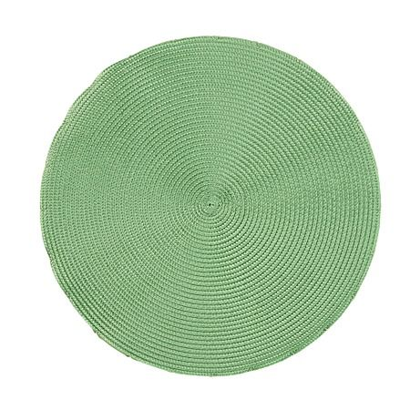 Living & Co Chair Pad Brights Round Green 40cm