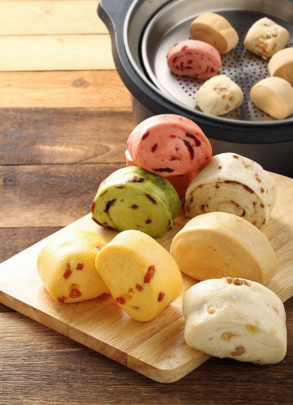 steamed buns (mantou) | Taiwanese food