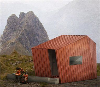Il nuovo bivacco - 2 Premio_Abitare minimo nelle Alpi 2012 - Sellero, Italia - 2012