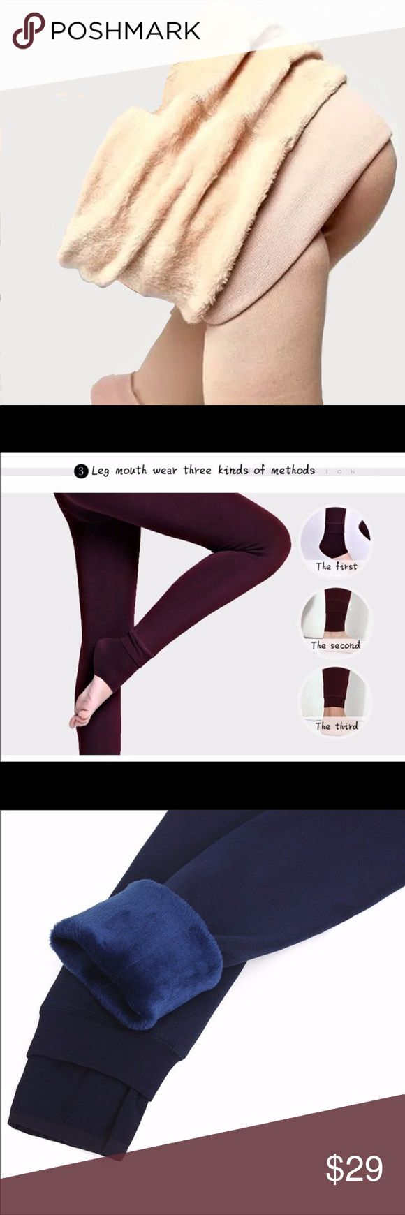 🆕JUST IN🆕5🌟Rated🌟Fur Lined KHAKI Leggings 💜🆕JUST IN🆕5🌟Rated🌟Fur Lined KHAKI Leggings Color ~ Khaki Fabric ~ Cotton/Polyester Knit  Simply to DIE for!! Über comfortable, you'll want to LIVE in these!! Hottest Fall trend!! Get them while you can!!! Benson Boutique Pants Leggings
