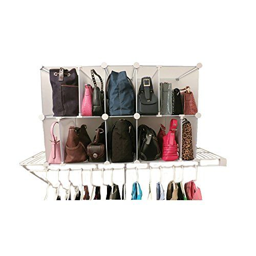 221 best images about purse storage closets on pinterest - Closet organizer for purses ...