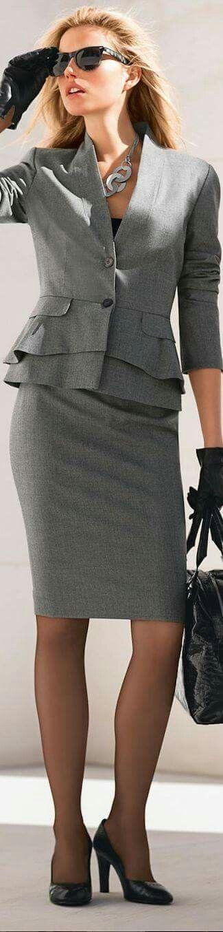 Saco y falda formales