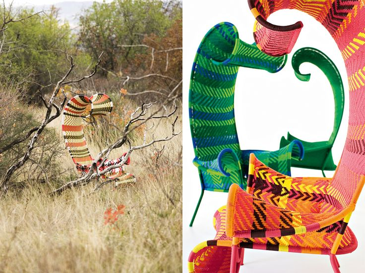 Furniture design collaboration made in Senegal