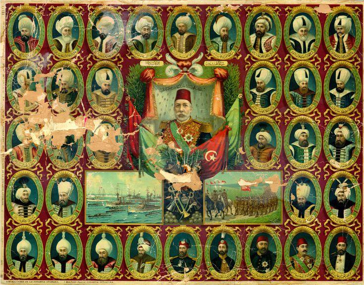 Sultans of the Ottoman Empire