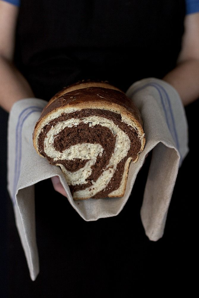 Marble bread