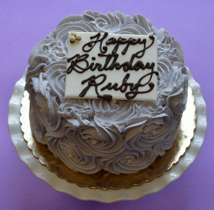Birthday Cake - Vanilla Cake with Lemon Curd and Italian Meringue Buttercream
