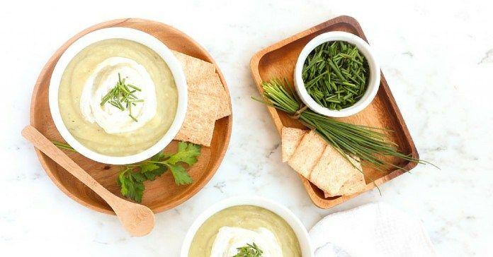 Recept na krémovou bramborovou polévku s bylinkami