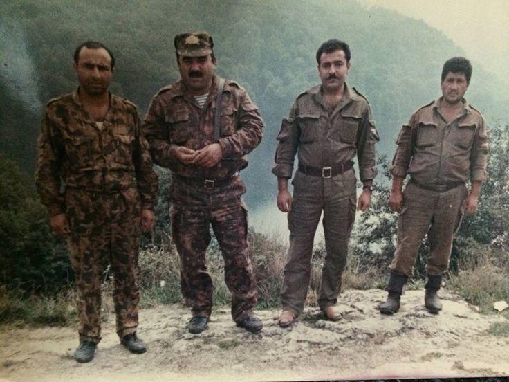 Azeri troops Nagorno-Karabakh War.