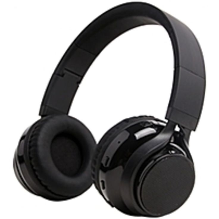 iLive Bluetooth Stereo Headphones and Portable Speaker System - Stereo - Black - Mini-phone - Wired/Wireless - Bluetooth - 33 ft - 32 Ohm - Over-the-head - Binaural - Circumaural