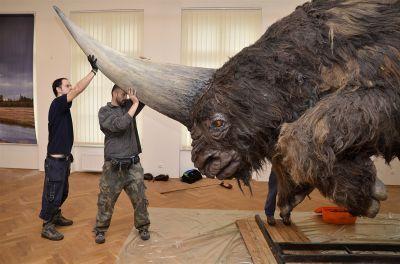 L'Elasmotherium sibiricum, la licorne de Sibérie
