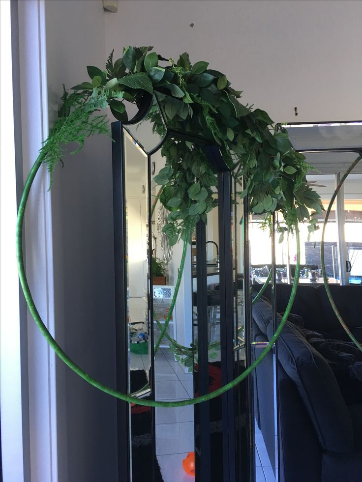 Silk hoop Front shop display https://m.facebook.com/flowersbylyndagoldcoast/