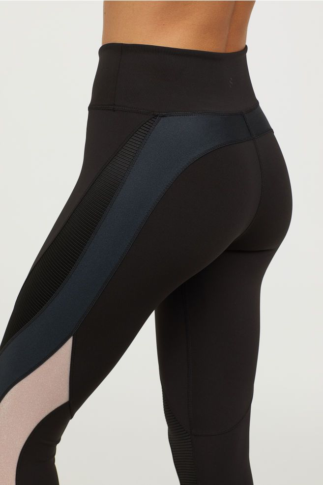 Shaping Sportlegging.Sportlegging Shaping Waist Sustainable Sport Sport Tights H M