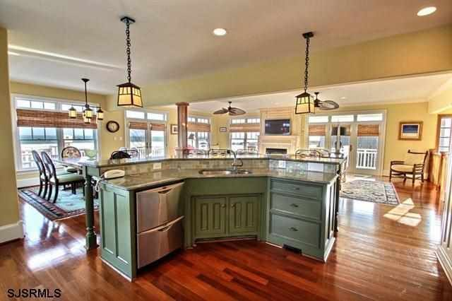 The 25 best galley kitchen island ideas on pinterest for Galley shaped kitchen designs