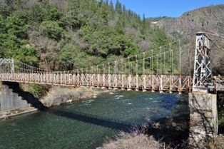 Bridge over the American River in Colfax, CA - http://www.placercountyhomesandland.com/colfax-homes-for-sale.php
