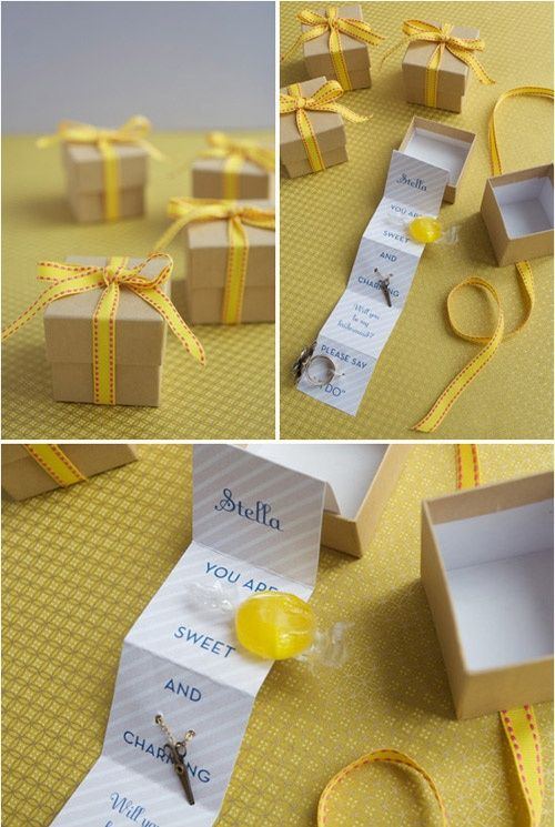 Ashley Thunder Events: Will you be my bridesmaid?