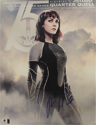 Jena Malone Hand Signed Autographed 11x14 Photo Hunger Games GA 769646