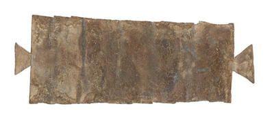 Vervloekingstafel gevonden in Bodegraven, met de namen van 21 Romeinse soldaten