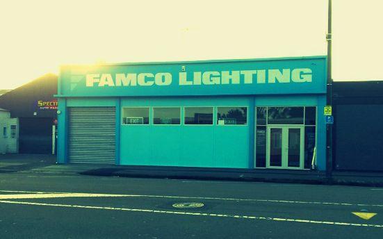 Famco Lighting Ltd Palmerston North, New Zealand.  Terrific commercial lighting company.