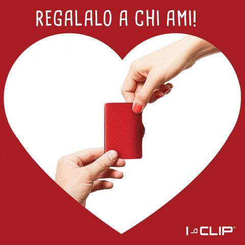 Acquista per San Valentino un iClip! http://www.calzaveste.it/accessori-uomo/portacarte-di-credito-i-clip/