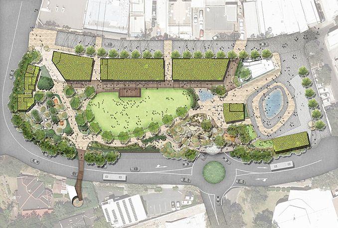 The Common At Lane Cove Lane Cove Australia Arcadia Landscape Architecture Landscape Plans Campus Landscape Design Landscape Architecture