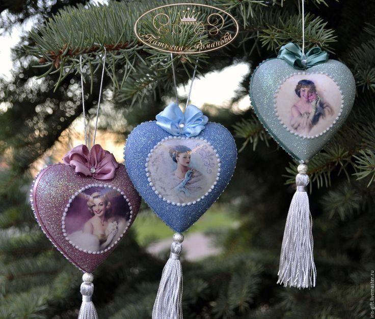 """Купить Набор елочных украшений """"Новогодний бал"""" - Новый Год, новый год декупаж, новогодние игрушки"""