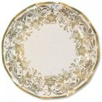 Gold Patterned Extra Strong Large Paper Plates Packs of 10  sc 1 st  Pinterest & 20 best Party - plates and cutlery images on Pinterest | Shun ...