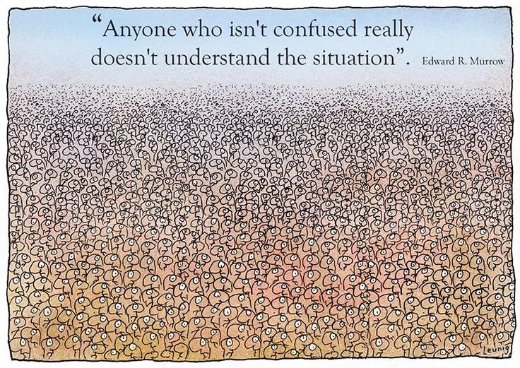 Understanding confusion!