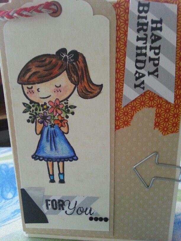 Card birtday handmade