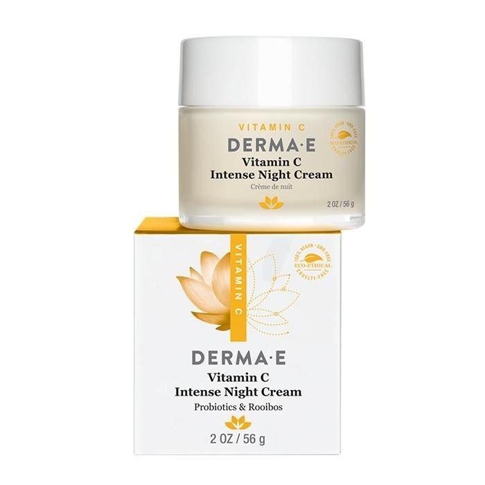 Derma E Vitamin C Intense Night Cream Available Skincarebyalana Com Skin Brightening Skin Brightening Diy Night Creams