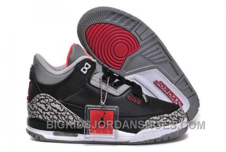 http://www.bigkidsjordanshoes.com/hot-nike-air-jordan-3-kids-2014-grey-black-red-shoes.html HOT NIKE AIR JORDAN 3 KIDS 2014 GREY BLACK RED SHOES Only $0.00 , Free Shipping!