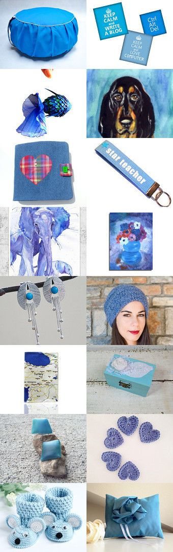 Blue by Dorotka Wu on Etsy--Pinned with TreasuryPin.com