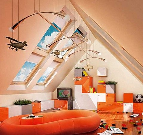Ideas, Attic Kids Playroom Ideas Indoor Play Equipment Structures Areas Kids Design Playsets Children Baby Area 479x450: Marvellous Child Playroom Ideas for Parents