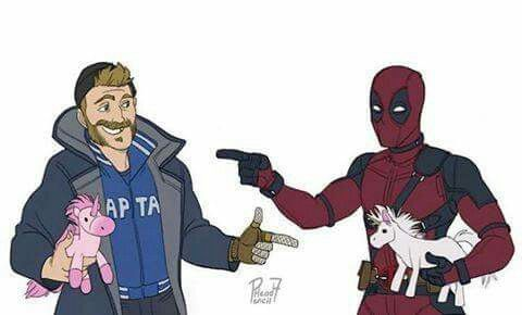 Captain Boomerang (Suicide Squad) & Deadpool