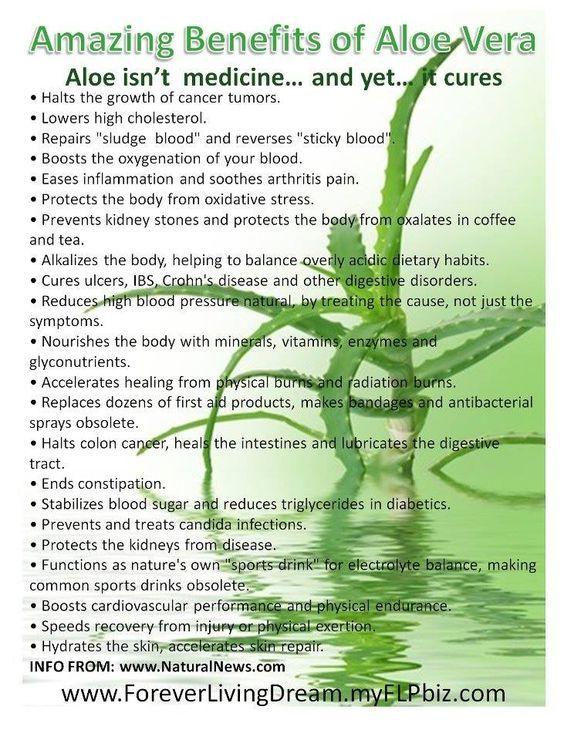 Aloe Vera Benefits for all round health: