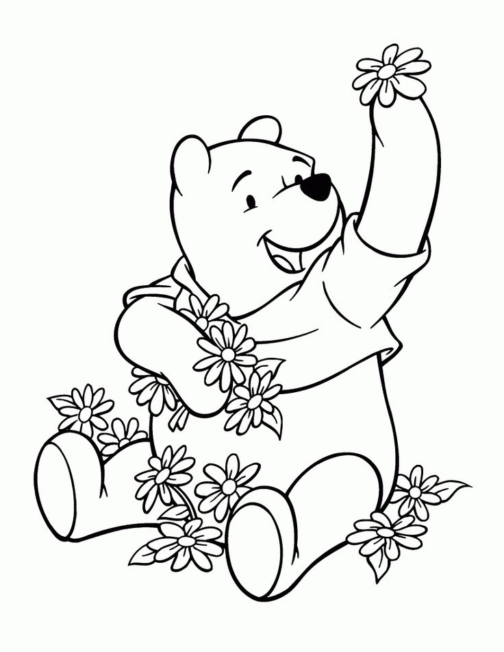 The 157 best Winnie the Pooh Coloring Pages images on Pinterest ...