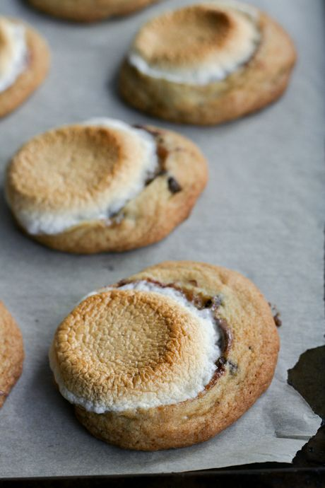 Toasted Marshmallow and Nutella Chocolate Chip Cookies. #TheTexasFoodNetwork Come share your recipes with us @ www.facebook.com/TheTexasFoodNetwork @Chef Shelley Pogue