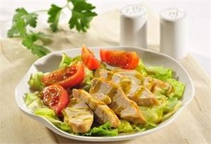 Sałata z grillowanym kurczakiem/ Salad with grilled chicked  www.winiary.pl