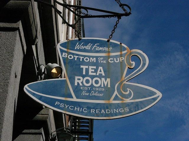Tea Room Reading New Orleans