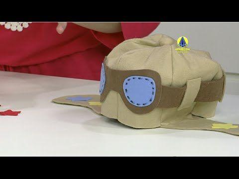 Santa Receita | Gorro aviador por Evelize Xavier - 16 de Novembro de 2015 - YouTube