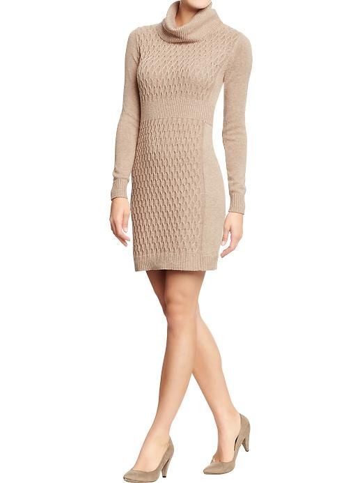 Cowl Neck Sweater Dress..Cute and Inexpensive